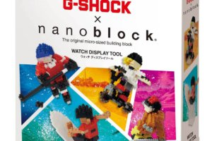 G-Shock Nanoblock Watch Display Tool Box