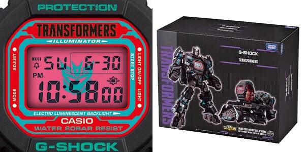 G-Shock DW-5600TF19-SET EL Backlight and Box