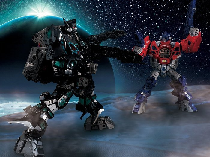 Transformers Optimus Prime and Nemesis Prime G-Shock Collaborations