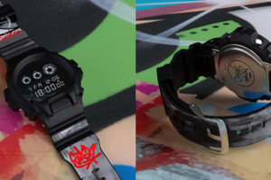 Crash x Stash x G-Shock DW-6900BBA-1STCR Singapore Culture Cartel 2019