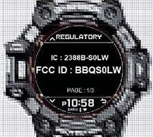 G-Shock GBD-H1000 FCC Image