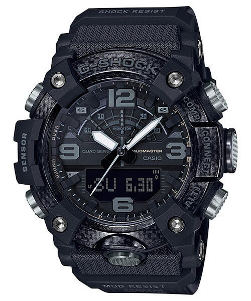 G-Shock GG-B100-1B Black Out Mudmaster