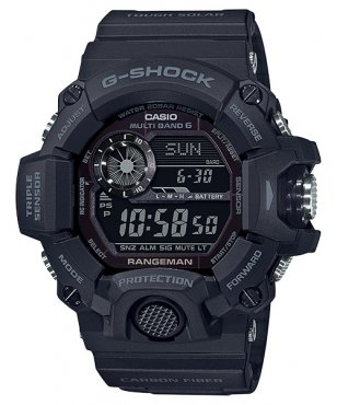 G-Shock GW-9400J-1BJF Black Out Rangeman
