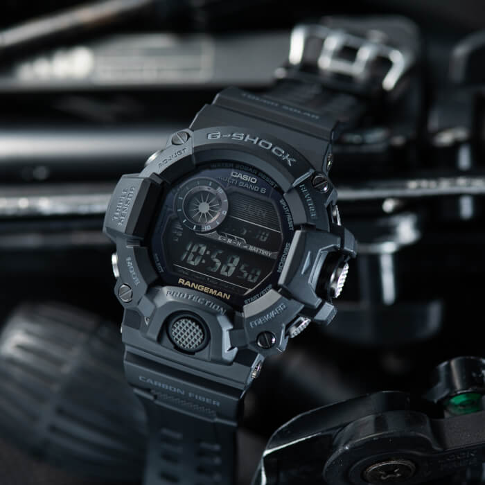 G-Shock GW-9400J-1BJF Rangeman Black Out