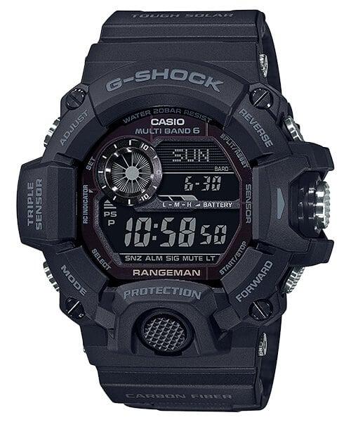 G-Shock GW-9400J-1BJF Black Out Rangeman