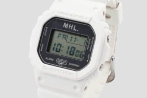 Margaret Howell (MHL) x G-Shock DW-5600 Collaboration Watch for 2020