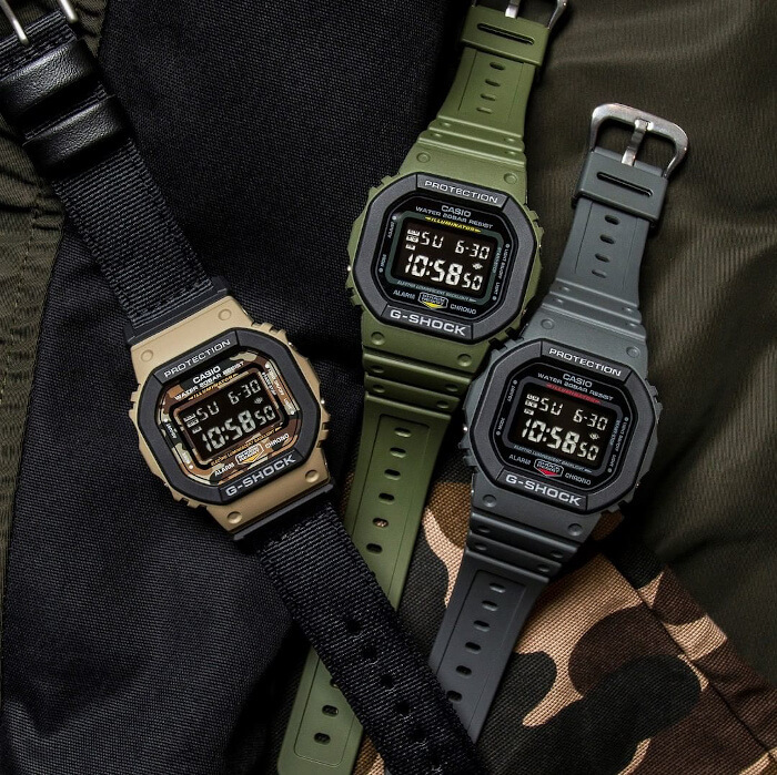 G-Shock DW-5610SU DW-5610SUS Utility Colors