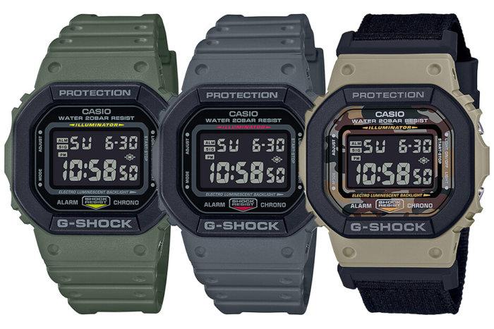 G-Shock DW-5610 DW-5610SU-3 DW-5610SU-8 DW-5610SUS-5