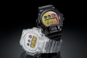 G-Shock DW-6900SP-1 and DW-6900SP-7 For DW-6900 25th-Anniversary