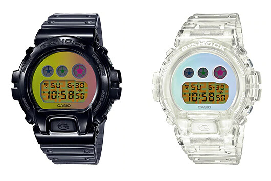 G-Shock DW-6900SP-1 & DW-6900SP-7 for DW-6900 25th Anniversary