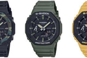 G-Shock GA-2110: GA-2100SU-1A GA-2100SU-3A GA-2100SU-9A