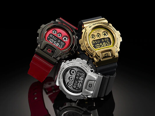 G-Shock GM-6900 Series with Metal Forged Bezel