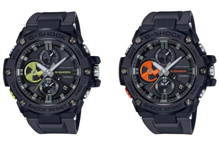 G-Shock G-STEEL GST-B100B-1A3JF & GST-B100B-1A4JF