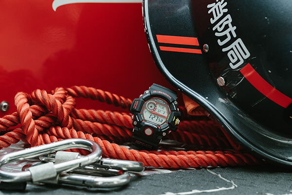 G-Shock GW-9400NFST Sendai & Kobe City FIre Bureau Collaboration