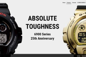G-Shock 6900 25th Anniversary Page