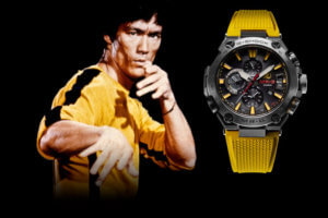 Bruce Lee x G-Shock MR-G MRG-G2000BL Collaboration Watch