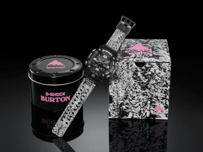 Burton x G-Shock GG-B100BTN Case and Box