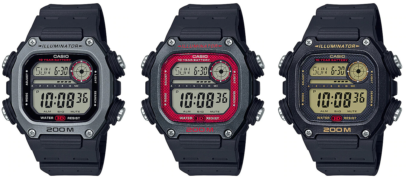 Casio DW-291H: A Compelling G-Shock Alternative – G-Central G-Shock Watch Fan Blog