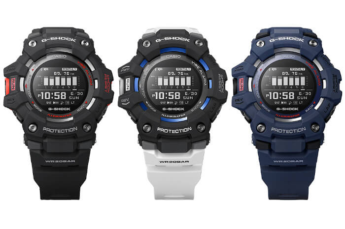 G-Shock GBD-100 with Accelerometer and Phone Notifications – G-Central G-Shock Watch Fan Blog