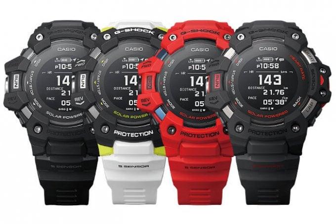G-Shock G-SQUAD GBD-H1000: black GBD-H1000-1 GBD-H1000-1A7 GBD-H1000-4 GBD-H1000-8
