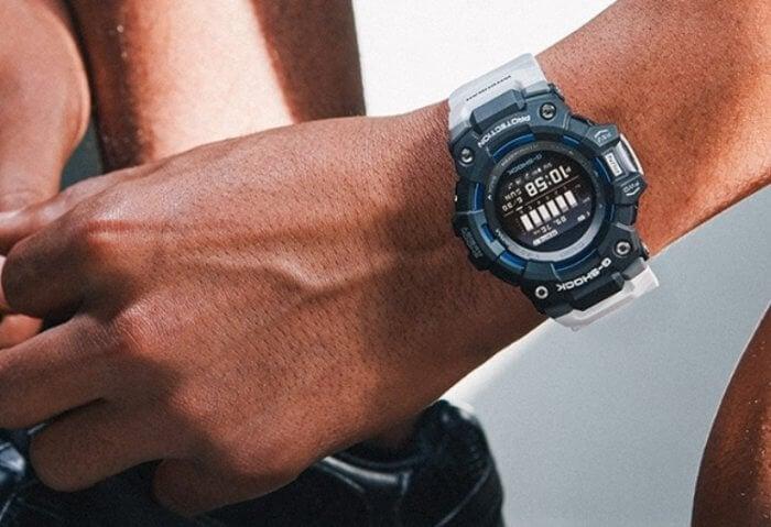 G-Shock G-SQUAD GBD-100 Wrist Shot