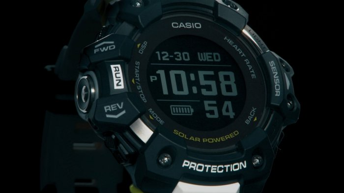 G-Shock G-SQUAD GBD-H1000 with Heart Rate Monitor and GPS