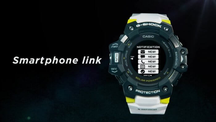 G-Shock GBD-H1000 with Bluetooth Smartphone Notifications