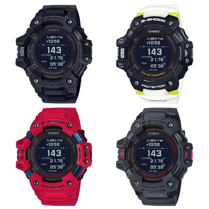 G-SHOCK G-SQUAD GBD-H1000 Launch Models