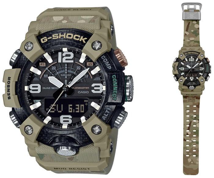 British Army x G-Shock Mudmaster GG-B100BA-1A
