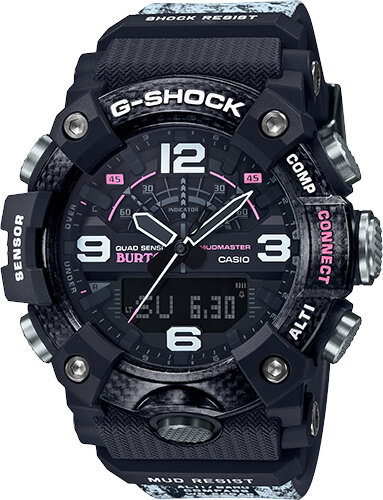 Burton x G-Shock Mudmaster GG-B100BTN-1A (GGB100BTN-1A) – G-Central G-Shock Watch Fan Blog