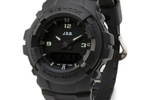 J.S.B. x G-Shock G-100 Collaboration for 2020