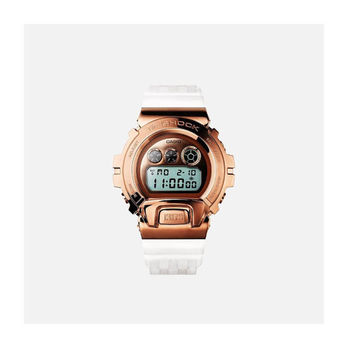 KITH x G-Shock GM-6900 White Band