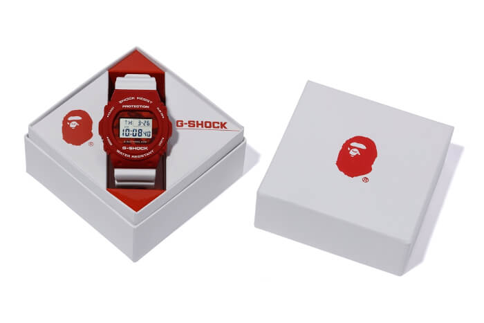 A Bathing Ape x G-Shock DW-5750 2020 Box