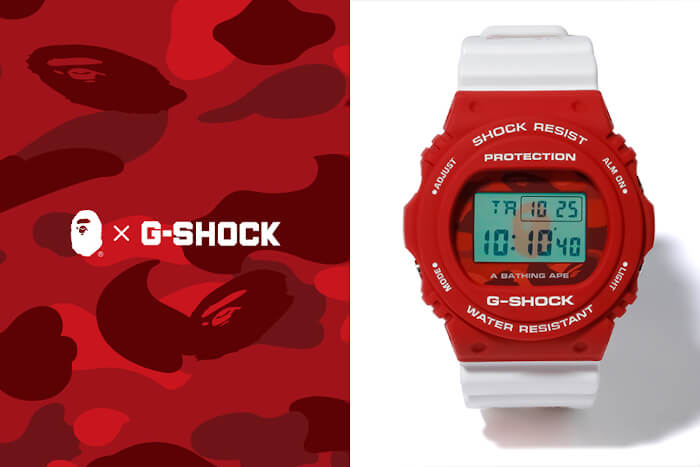 A Bathing Ape x G-Shock DW-5750 Collaboration for 2020