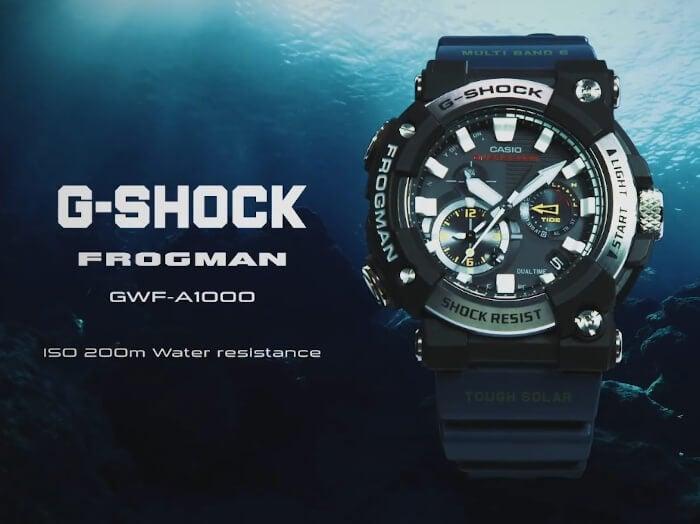 G-Shock Frogman GWF-A1000