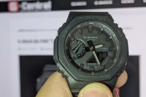 G-Shock 2100 GA-2100-1A1 Review