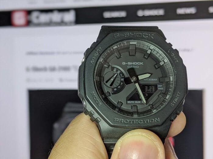G-Shock 2100 GA-2100-1A1 Review