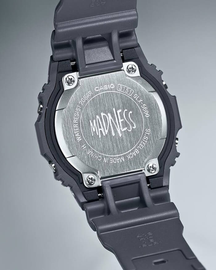 Madness x G-Shock GLX-5600MAD19-1 Case Back