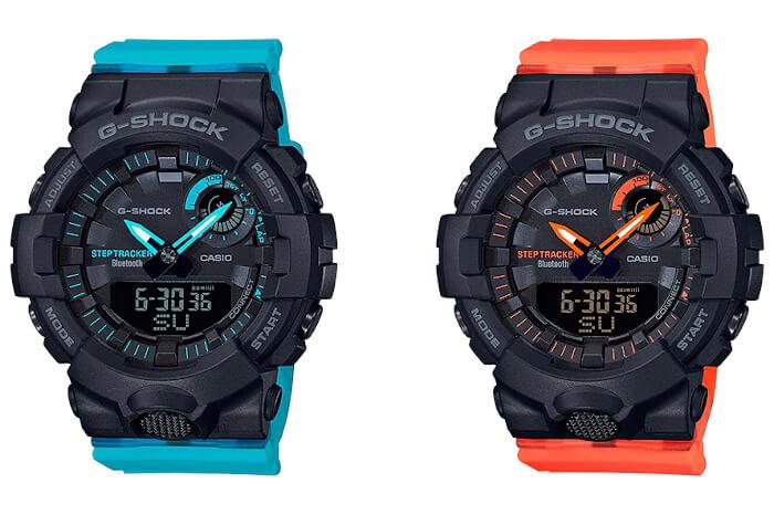G-Shock G-SQUAD GMA-B800: GMA-B800SC-1A2 GMA-B800SC-1A4