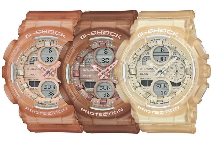 G-SHOCK GMA-S140NC: GMA-S140NC-5A1 GMA-S140NC-5A2 GMA-S140NC-7A