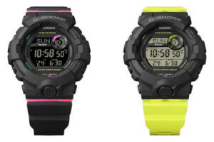 G-Shock G-SQUAD GMD-B800: GMD-B800SC-1 GMD-B800SC-1B