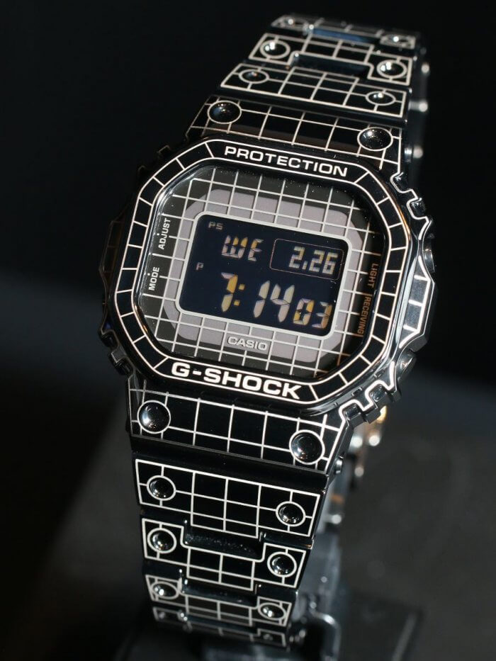 G-Shock GMW-B5000CS Laser Grid Candid Shot