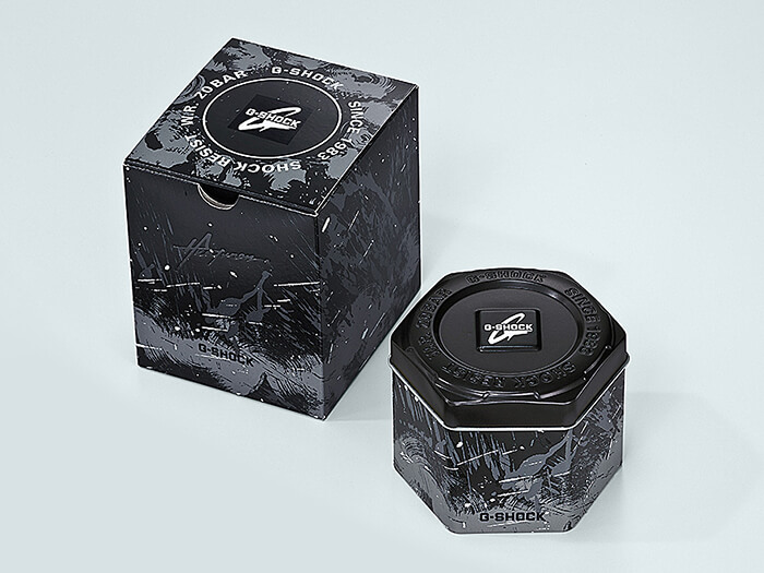 GST-B200TJ-1A Case and Box