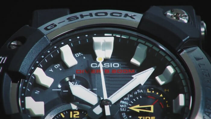 G-Shock Frogman GWF-A1000 Analog Dial