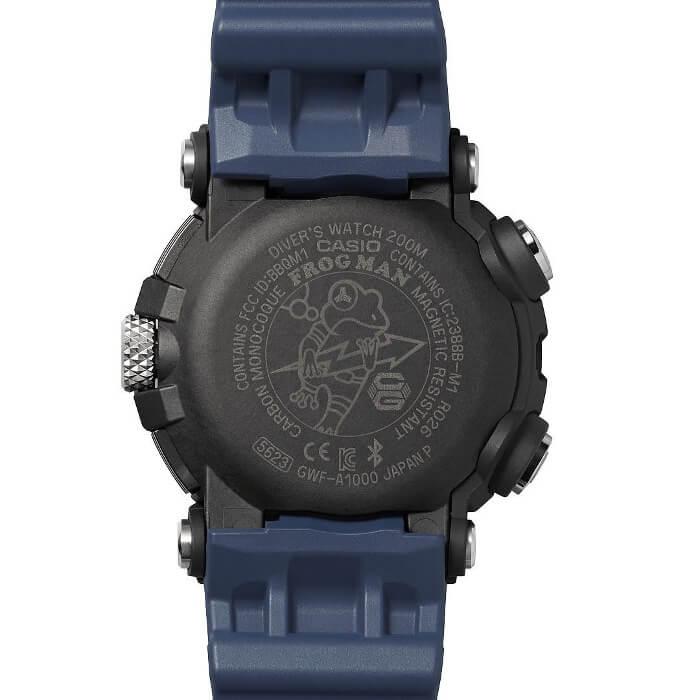 G-Shock Frogman GWF-A1000 GWF-A1000-1A2 Carbon Monocoque Case Back