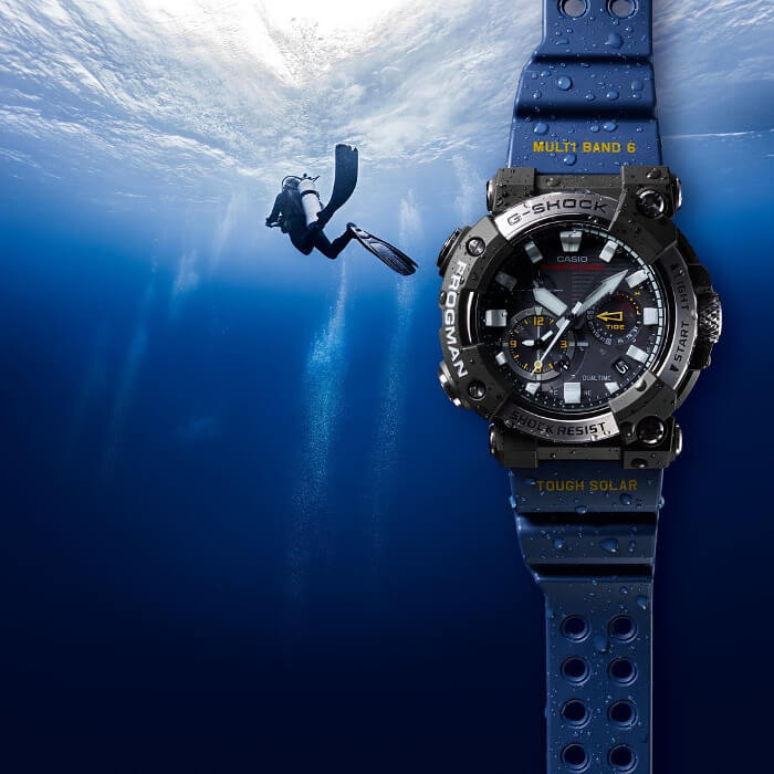 G-Shock Frogman GWF-A1000 GWF-A1000-1A2 ISO Divers 200M