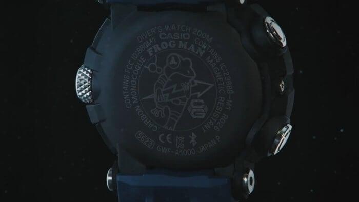 G-Shock Frogman GWF-A1000 Case Back