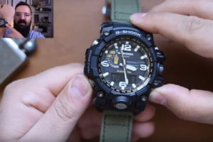 The Time Teller on G-Shock