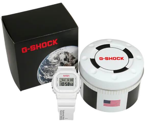 G-Shock x NASA DW5600NASA20 Case and Box
