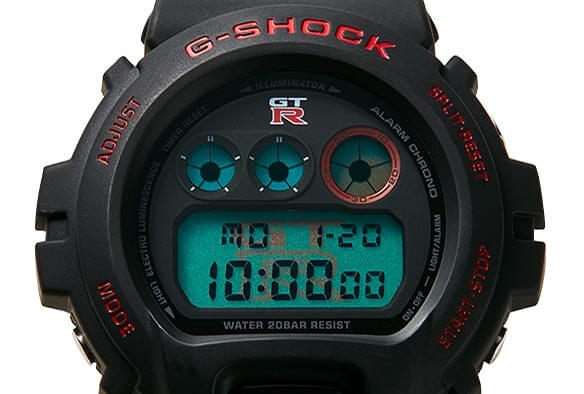 Nissan GT-R x G-Shock DW-6900 for 2020 Face